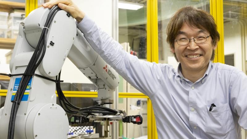 気鋭のロボット研究者vol.9]人の手を超える機能をロボットで【後編 ...